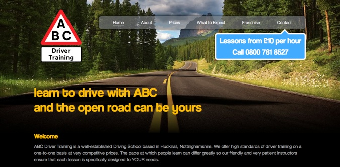 ABC Driver Training Screenshot